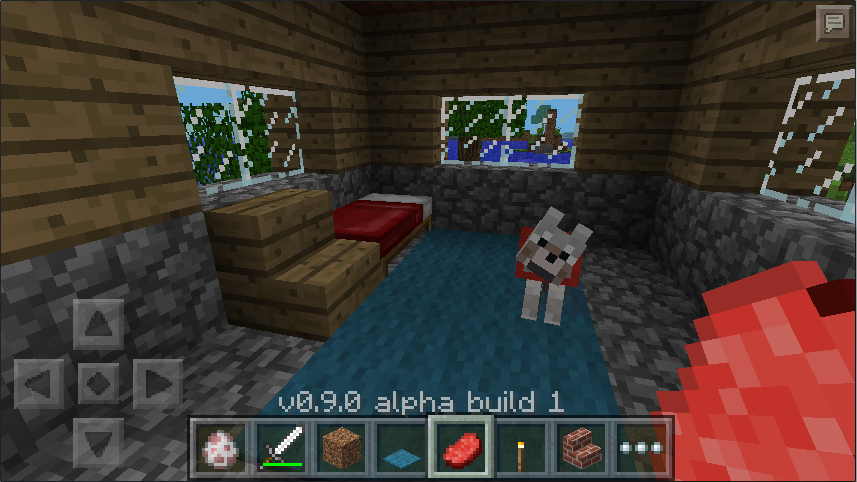 Wolves are coming to Minecraft: Pocket Edition.