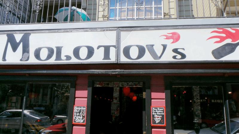 Molotov's bar