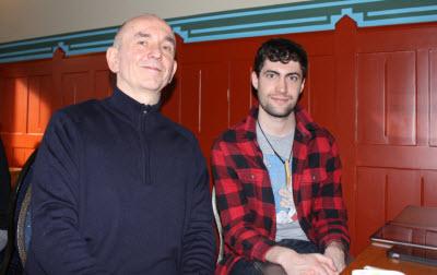 Peter Molyneux and Jack Attridge