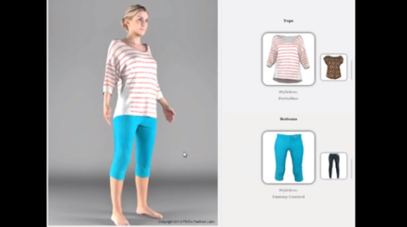 Now, you can try on your clothes at eBay.