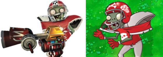 plants vs zombies garden warfare football all star - Plants Vs Zombie Garden Warfare