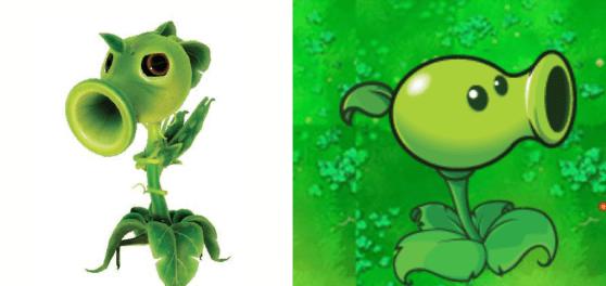 plants vs zombies garden warfare peashooter comparison - Plants Vs Zombie Garden Warfare