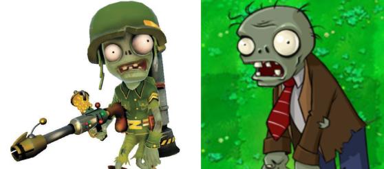 Plants vs. Zombies Garden Warfare Foot-soldier
