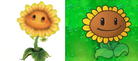 Plants vs. Zombies Garden Warfare Sunflower
