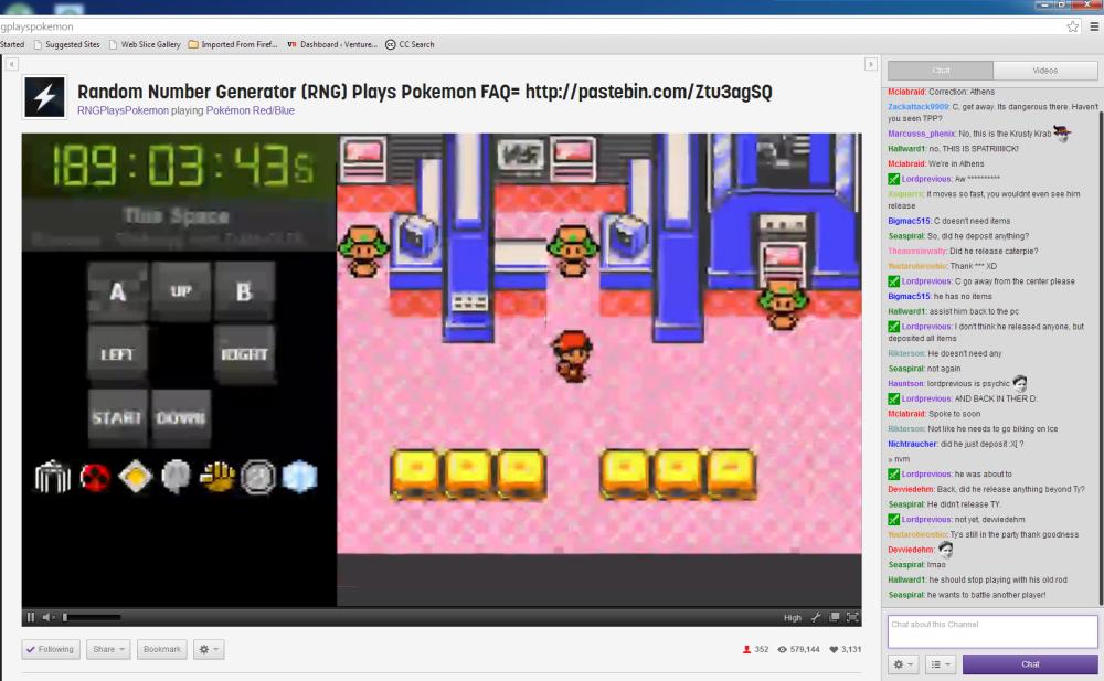 RNG Plays Pokemon