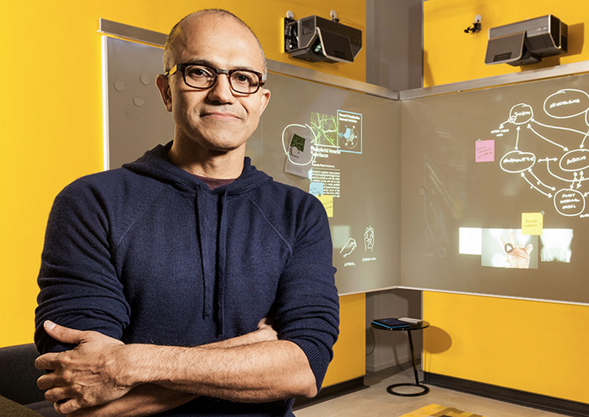 Microsoft chief executive Satya Nadella.