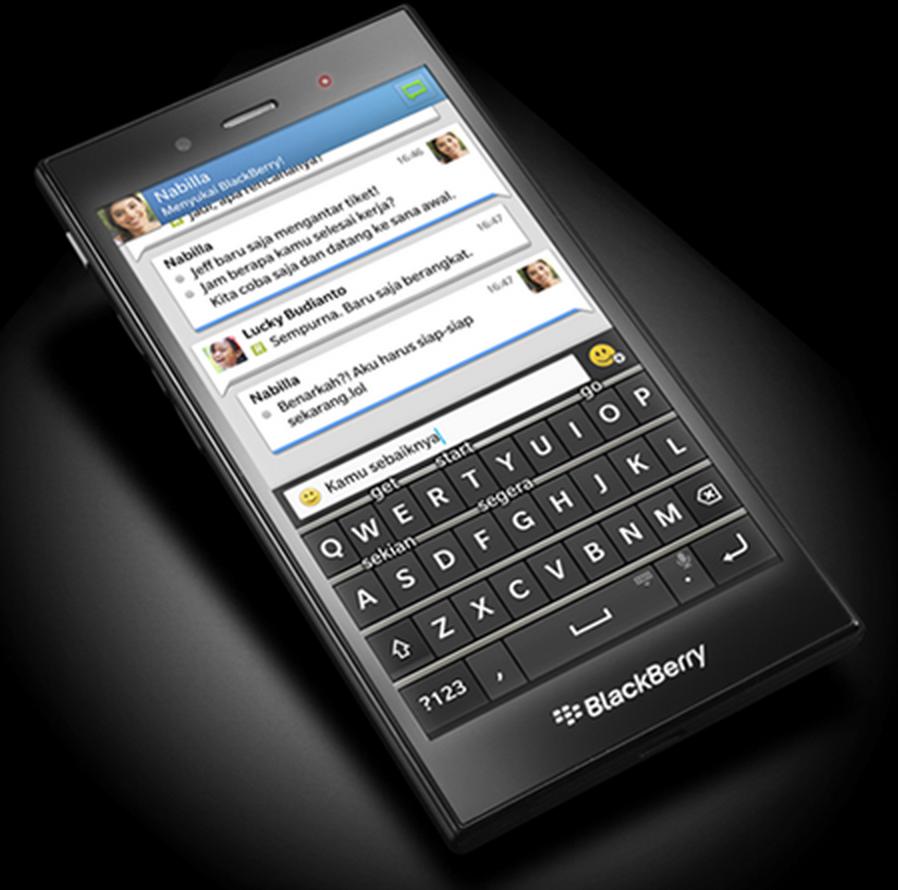 The BlackBerry Z3