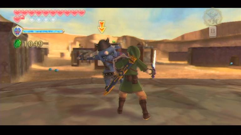 Skyward Sword Desert resized