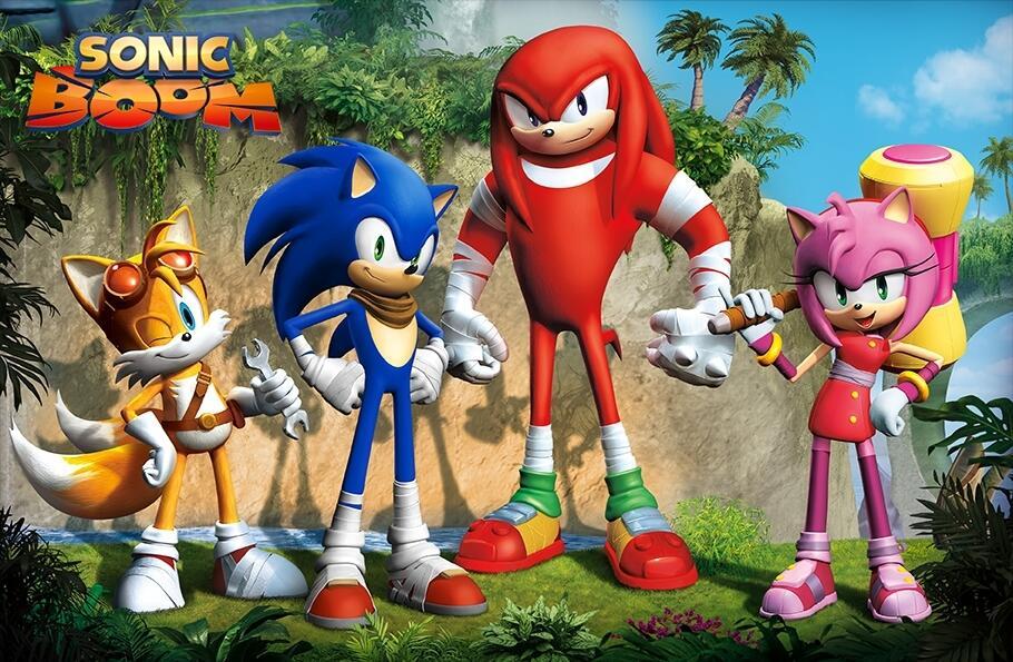 Leaked character art from Sega's Sonic Boom.