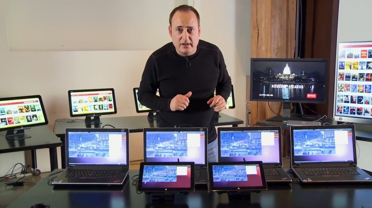 Steve Perlman demonstrates his startup's new wireless technology, pCell.