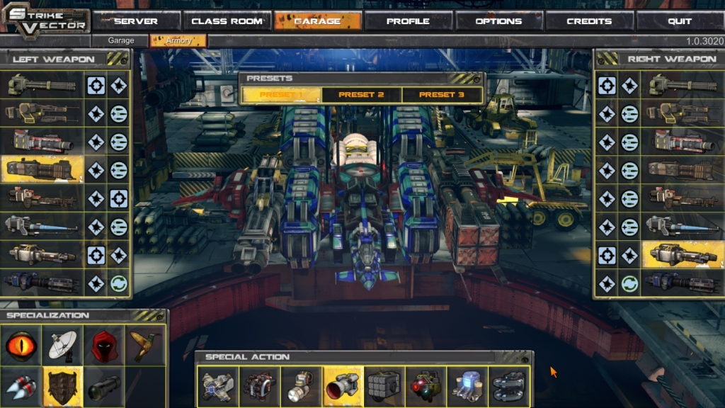 strike vector armory