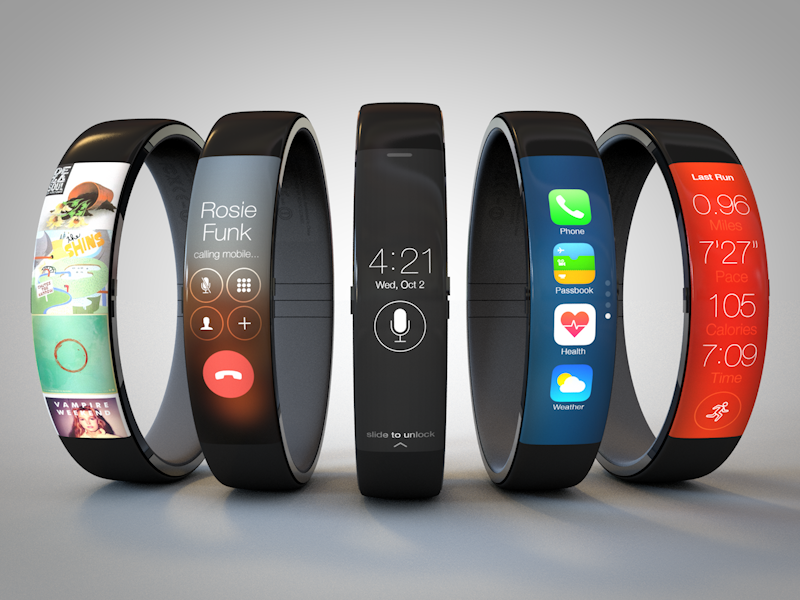 "Apple ""iWatch"" concept by UI designer Todd Hamilton"