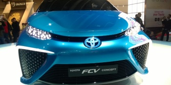 Will Toyota's fuel cell sedan target Tesla's Model S?