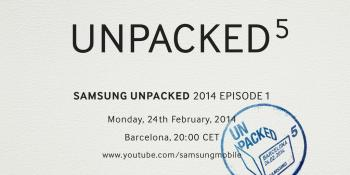 Galaxy S5 reveal coming soon? Samsung sends out invites to 'Unpacked 5' event