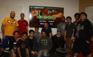 USC's Bloom team leaders. Khaled Abdel Rahman is in yellow on the far left.