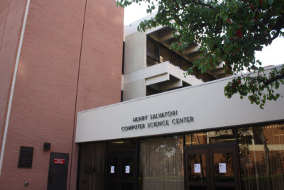 USC computer science building, home of the advanced games class.