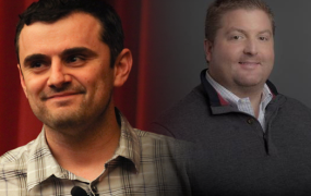 Gary Vaynerchuck (left) and Ronny Conway.