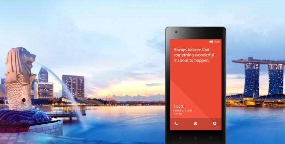 Xiaomi's Redmi Android smartphone.