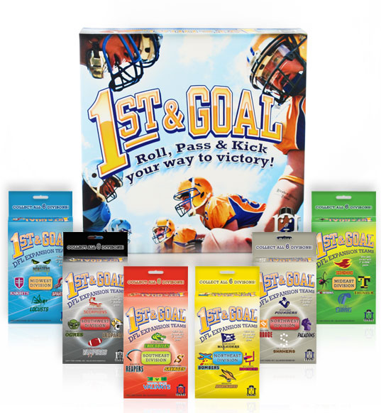 The 1st & Goal Toucdown Pack.