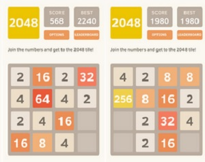 Threes vs  2048: When rip-offs do better than the original game