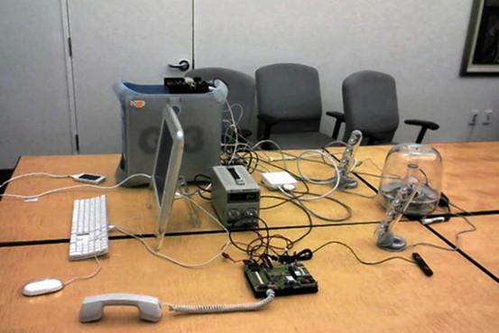 apple wallaby test setup