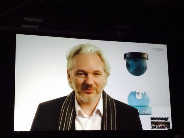 Julian Assange at SXSW
