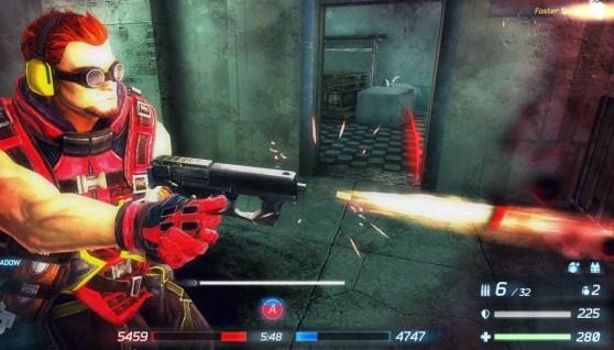 ballistic pistol
