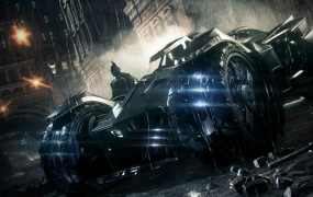 Batman: Arkham Knight -- The Batmobile
