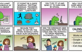 Comic explanation by Scott Adams