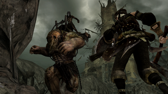 Combat animations are motion-captured for the first time in Dark Souls 2.