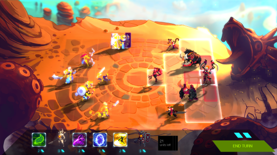 Duelyst will launch with approximately 8 maps.