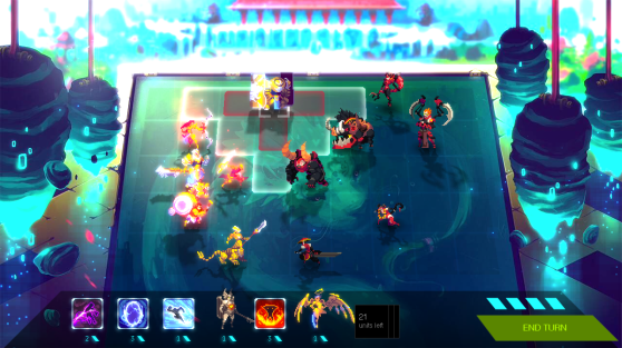 Each unit in Duelyst has special abilities unique to their faction or class.