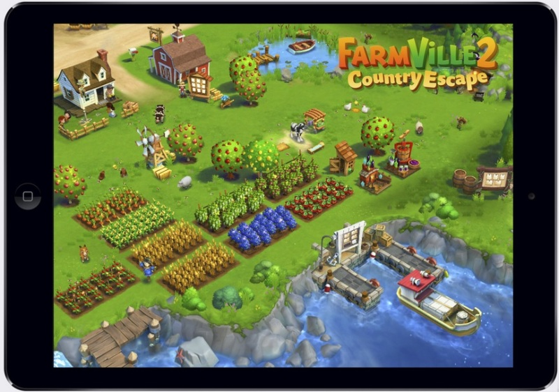 FarmVille 2: Country Escape is part of Zynga's new mobile effort.