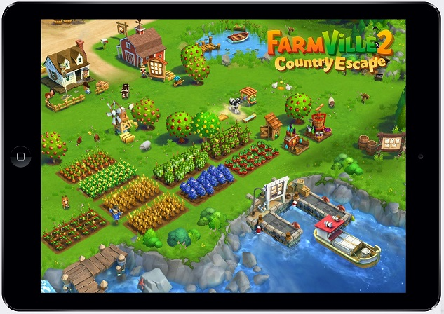Zynga tries to retake mobile gaming with farmville 2 country escape gamesbeat for Form ville