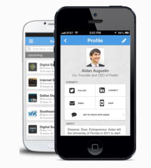 The Feathr mobile app.