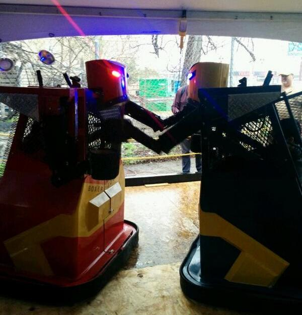 Robot boxing!