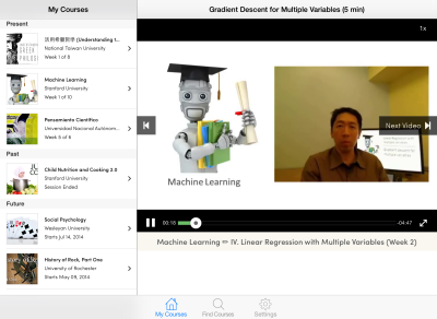 Coursera debuts its iPad app (finally) | VentureBeat