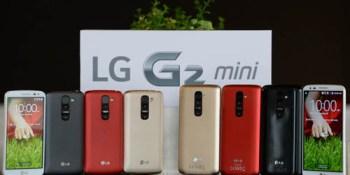 The G2 Mini is smaller, cheaper, & LG's bid to take over the world