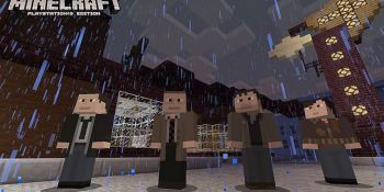 A blocky Nathan Drake: Minecraft on PS3 gets Uncharted, Killzone, and Heavy Rain skins