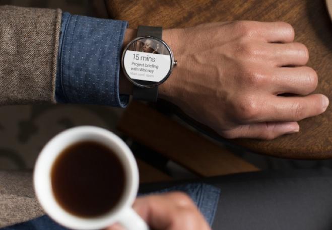 Motorola's Moto 360 smartwatch