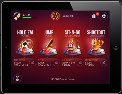 The new Zynga Poker