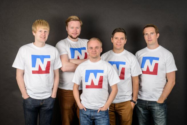 From left to right: Joakim Achren, Mikael Achren, Jaakko Jumisko, Kalle Hiitola, and Teemu Huuhtanen