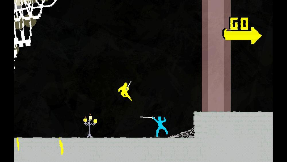 Nidhogg tested player reflexes like no other game this year.