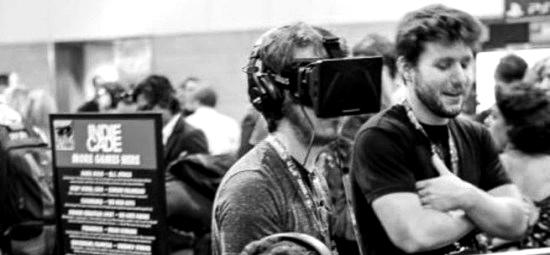 Oculus Rift Indiecade BW