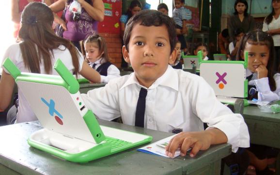 OLPC laptops in Paraguay.