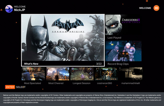 OnLive Batman