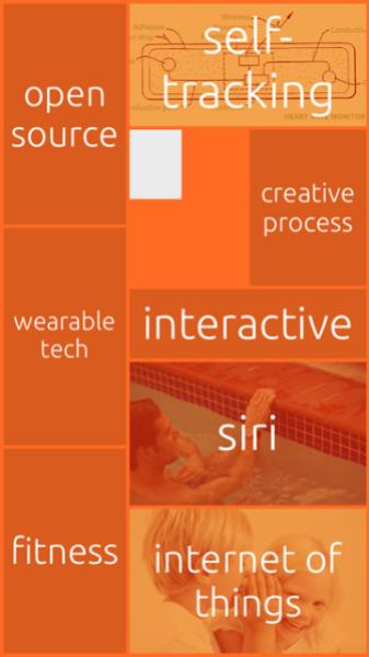 A screenshot of Random's iOS app's home screen.
