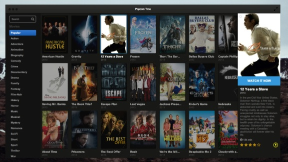 Watch torrent movies instantly