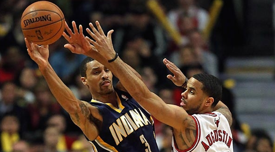 Indiana Pacers play the Bulls
