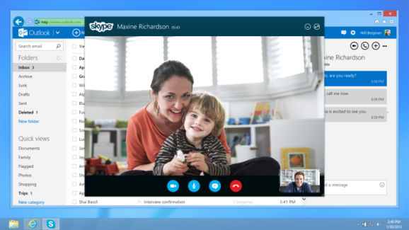 Skype for Outlook.com
